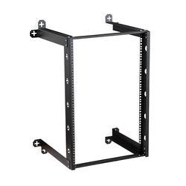"Kendall Howard 1915-3-301-16 16U V-Line Wall Mount Rack - 18"" Depth"