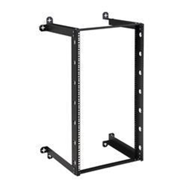 "Kendall Howard 1915-3-301-21 21U V-Line Wall Mount Rack - 18"" Depth"
