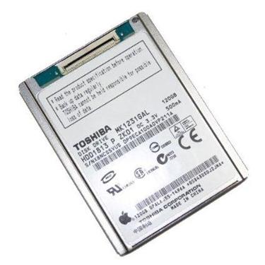 Toshiba MK1231GAL 120 GB Mobile ZIF Hard Drive for Apple iPod Classic