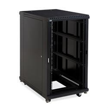 "Kendall Howard 3180-3-001-22 22U LINIER Open Frame Server Rack - No Doors - 36"" Depth"