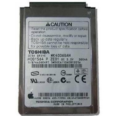 "Used - Toshiba MK4006GAH 40GB UDMA/100 4200RPM 2MB 1.8"" Mini Hard Drive"