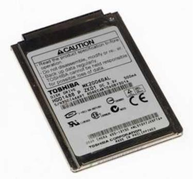 Used - Toshiba MK2006GAL 20GB Hard Drive