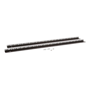 Kendall Howard 3150-3-001-22 22U LINIER Wall Mount Vertical Rail Kit - Cage Nut