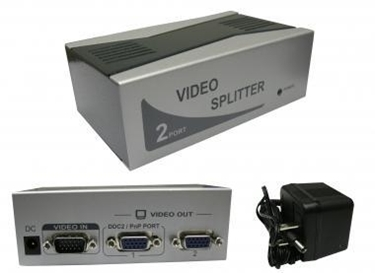 CableWholesale's 41H1-27602 VGA Video Splitter 1 PC to 2 Monitors
