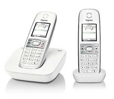 DUO Dual Handset DECT Phone With Answering System