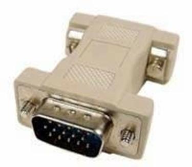 DB9 Famale to HDB15 Male VGA Adapter