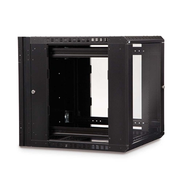 Kendall Howard 3130-3-001-12 12U Kendall Howard Swing Out Wall Mount server Cabinet