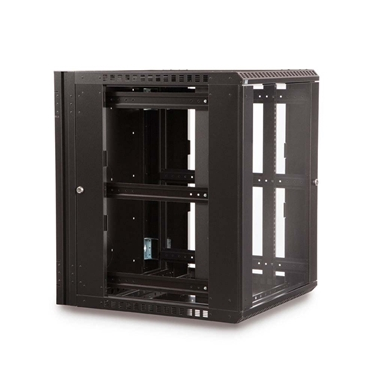 Kendall Howard 3130-3-001-15 15U Kendall Howard  Swing Out Wall Mount server Cabinet