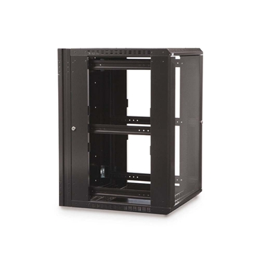 Kendall Howard 3130-3-001-18 18U Swing Out Wall Mount server Cabinet