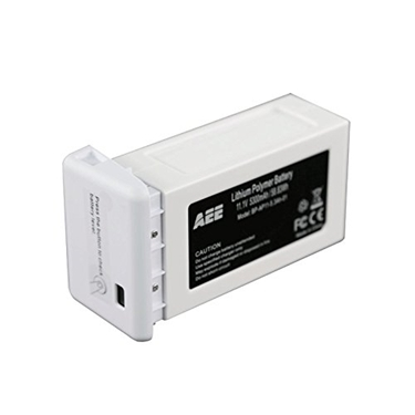 AEE AD01 Backup Lithium Polymer Toruk AP10 5300mAh Battery for Video Drone Quadcopter (White)