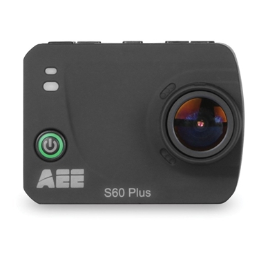 AEE S60 Plus Camera 1080P-60 16MP HD LCD TFT Display Wifi Time Lapse Action Camera with Waterproof Case (Black)