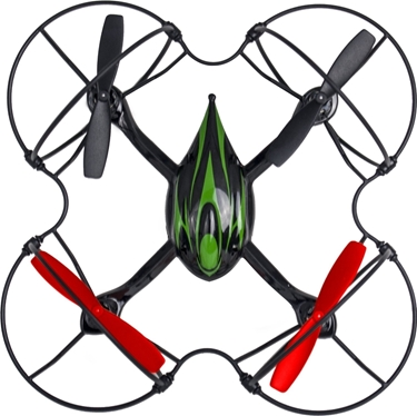 Quadrone AW-QDR-BAS Quadcopter 4 Channel 2.4GHz RC Remote Controlled Drone with Best Protective Cover