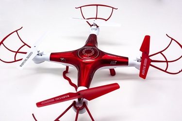 Quadrone AW-QDR-PRO Quadcopter 4 Channel 2.4GHz RC Remote Controlled Drone with Best Protective Guards