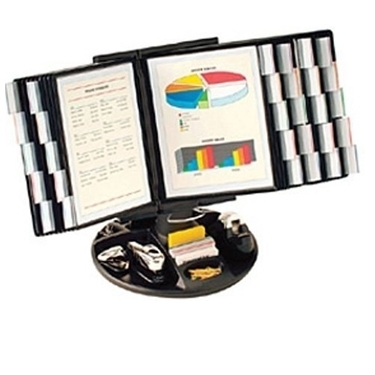 Aidata FDS021L-30 Flip & Find Desktop Organizer (Displays 60 pages)