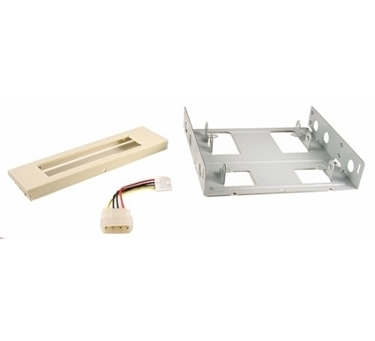 Nexhi FLT-3010-PS2 3.5-Inch to 5.25-Inch Floppy Mounting Kit Bracket - Beige