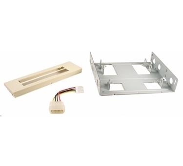 Nexhi FLT-3010-PS2 3.5-Inch to 5.25-Inch Floppy Mounting Kit Bracket - Beige