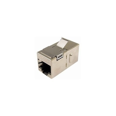 Cables Unlimited UTP-7205S Cat6 Shielded Keystone Coupler (Silver)
