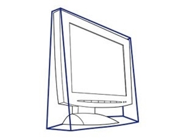 "Aidata DC15LE 15"" LCD Monitor Dust Cover"