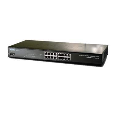Nexhi NXS-FNSW-1608PS-SW 16-Port 10/100Mbps with 8-Port PoE Web Smart Ethernet Switch