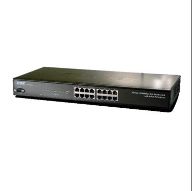Nexhi NXS-FNSW-1608PS-SW 16-Port 10/100Mbps with 8-Port PoE Web Smart Ethernet Switch