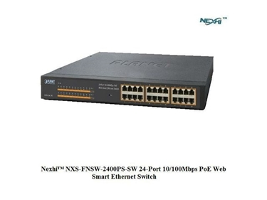 Nexhi NXS-FNSW-2400PS-SW 24-Port 10/100Mbps PoE Web Smart Ethernet Switch