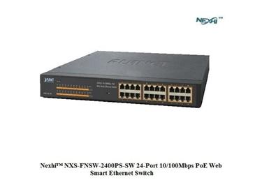 Nexhi NXS-FNSW-2400PS-SW 24-Port 10/100Mbps PoE Web Smart Ethernet Switch