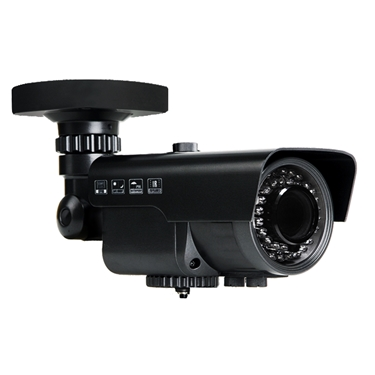 Nexhi NXS-MC205R-CAM 1080P HD-CVI IR BULLET Camera with 2.8-12mm Lens, 42IR & DC12V - Black