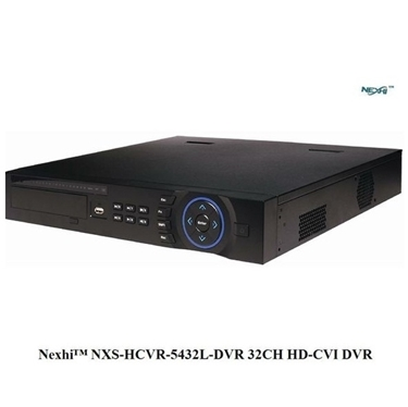 Nexhi NXS-HCVR-5432L-DVR 32CH 1080P HD-CVI DVR with HDMI Output, 3D Intelligent Positioning and Phone Apps