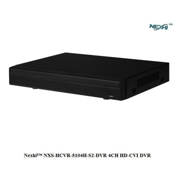 Nexhi NXS-HCVR-5104H-S2-DVR 4CH HD-CVI DVR with 1080P RECORD, HDMI OUTPUT and PHONE APPS