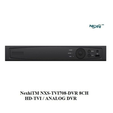 Nexhi NXS-TVI708-DVR 8CH HD-TVI / ANALOG DVR with 1080P RECORDING, H.264 Dual-Dream and HDMI OUTPUT
