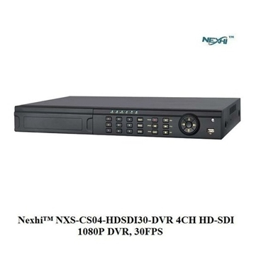 Nexhi NXS-CS04-HDSDI30-DVR 4CH HD-SDI 1080P DVR, 30FPS with HDMI/VGA/BNC, H.264 Compression, iPhone/Android App