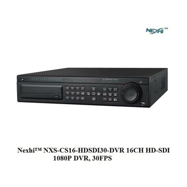 Nexhi NXS-CS16-HDSDI30-DVR 16CH HD-SDI 1080P DVR, 30FPS with HDMI/VGA/BNC, H.264 Compression, iPhone/Android App