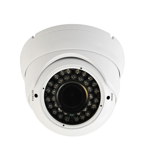 Nexhi NXH-202DV6/2W-MT 1080P HD-TVI IR VANDAL DOME Camera With 2.8-12mm Lens,36IR LEDs & DC12V