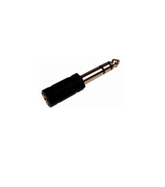 Cables Unlimited AUD-4400 1/4 Inch Male to 3.5mm Female Stereo Adapter (Black)
