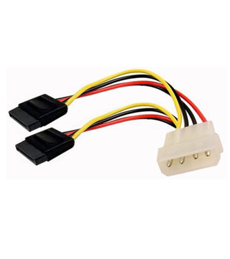 Cables Unlimited FLT-3710 SATA Power Splitter Cable