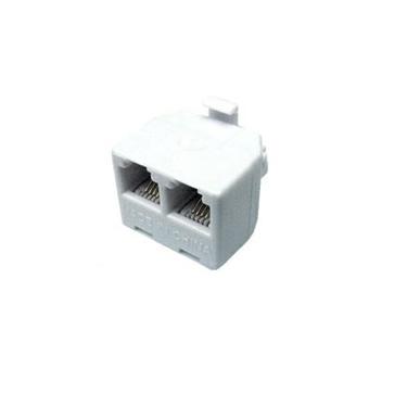 UTP-2400 RJ11 Male to 2 Female Adapter