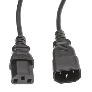 Nexhi CW-10W1-02212 European Comuter-Monitor VDE Approved Power Extension Cord