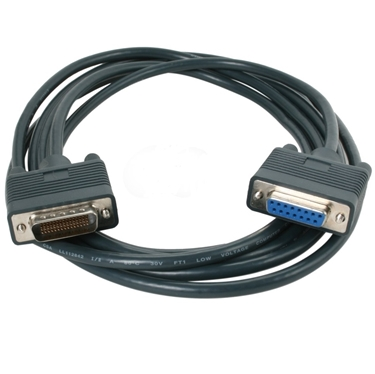 Nexhi CAB-X21FC-3M Male to Female HD60/DB15 CISCO Router Cable - 10Ft