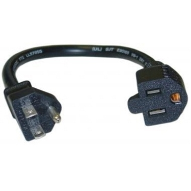 Power Extension 10W1-04201 Cord Perfect for Transformers 1 ft