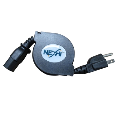 Nexhi NXH-ZIP-PWR-PC1 Retractable PC Power Cable