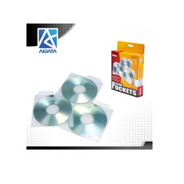 Aidata CDP1-25 CD-DVD Pockets - 25 Pockets
