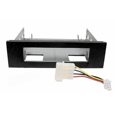 Nexhi FLT-3000 3.5In to 5.25In Floppy Mounting Kit Bracket - Black