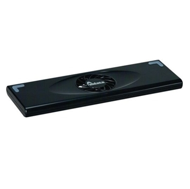 "Aidata NS010B Netbook Cooling Stand (for 8""-13"") - Black, Clamshell"