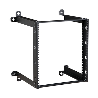 "Kendall Howard 1915-3-301-12 12U V-Line Wall Mount Rack - 18"" Depth"