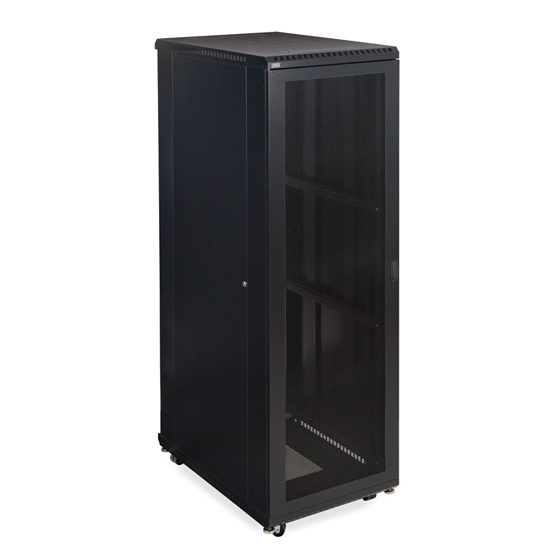 Kendall Howard 42U LINIER Server Cabinet - Vented/ Vented Doors - 36