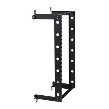 "Kendall Howard 1915-3-300-21 21U V-Line Wall Mount Rack - 12"" Depth"