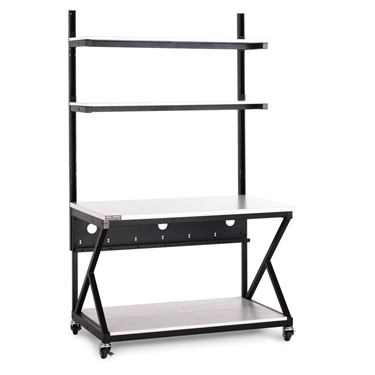 Kendall Howard 5000-3-200-48 48 Inch Performance Work Bench with Full Bottom Shelf