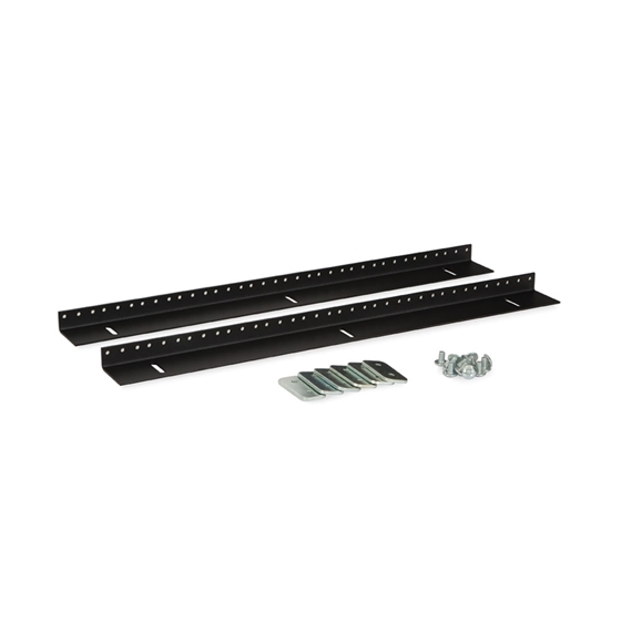 Kendall Howard 3150-3-002-12 12U LINIER Wall Mount Vertical Rail Kit - 10-32 Tapped