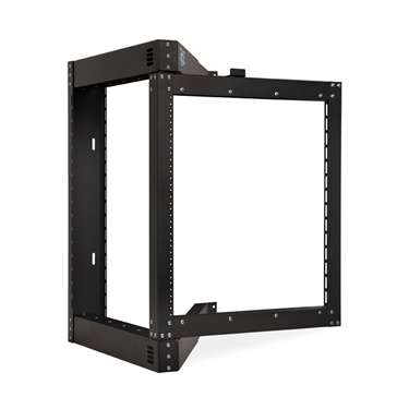 Kendall Howard 1915-3-800-12 12U Phantom Class Open Frame Swing-Out Rack