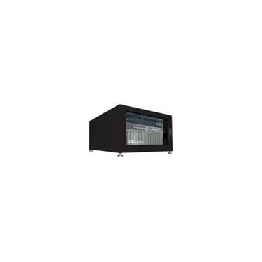 Gizmac XR-NRE2-6U-US-BLK XRackPro2 6U Rackmount Noise Reduction Enclosure Cabinet